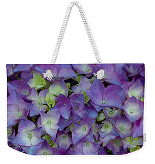 Hydrangia Blossom Weekender Tote Bag