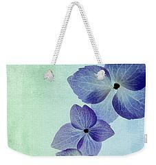 Hydrengae Petals Weekender Tote Bag