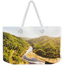 Hydropower Valley River Weekender Tote Bag