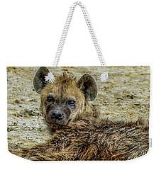 Hyena In The Serengeti Weekender Tote Bag