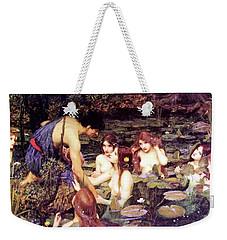 Hylas And The Nymphs Weekender Tote Bag