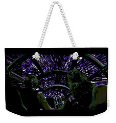 Hyper Space Weekender Tote Bag by George Pedro
