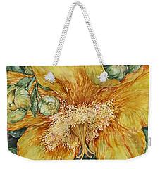 Hypericum Plant Weekender Tote Bag by Kim Tran