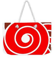Hypnotic Circle Weekender Tote Bag