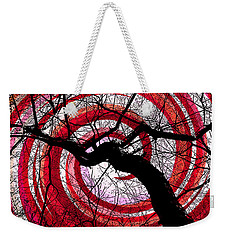 Weekender Tote Bag featuring the photograph Hypnotic Nature by Shawna Rowe