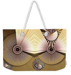 Hypnotic Weekender Tote Bag by Ron Bissett