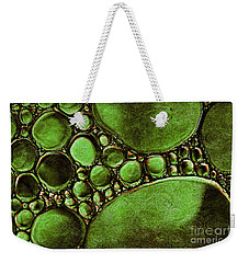 Weekender Tote Bag featuring the mixed media Hypothetica Parasitus by Lita Kelley