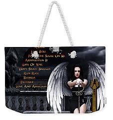 Hysteria Weekender Tote Bag by Michael Damiani