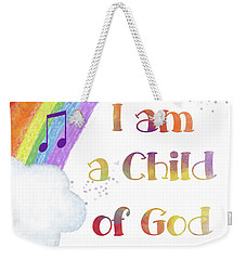 I Am A Child Of God 3 Weekender Tote Bag
