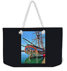 Weekender Tote Bag featuring the photograph I Am A Lady by Thom Zehrfeld