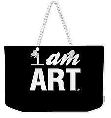 I Am Art- Shirt Weekender Tote Bag