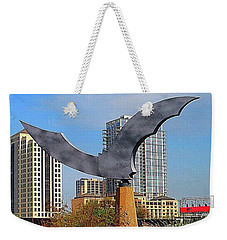 I Am #batty About #austin Weekender Tote Bag by Austin Tuxedo Cat