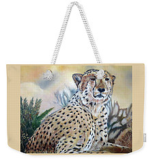 I Am Cheetah 2 Weekender Tote Bag