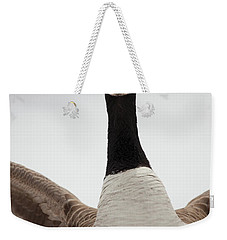 Weekender Tote Bag featuring the photograph I Am Coming After You by Karol Livote