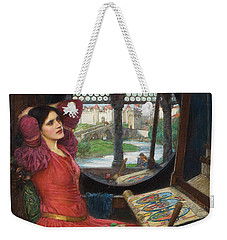 I Am Half Sick Of Shadows Said The Lady Of Shalott Weekender Tote Bag