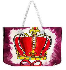 I Am King  Weekender Tote Bag