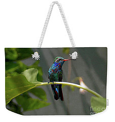 Weekender Tote Bag featuring the photograph I Am Only Waiting One More Minute by John Kolenberg