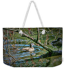 Weekender Tote Bag featuring the photograph I Am Pritty #h9 by Leif Sohlman
