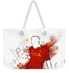 I Am Red #2 Weekender Tote Bag