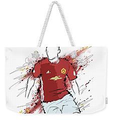 I Am Red And Black Weekender Tote Bag