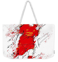 I Am Red Weekender Tote Bag