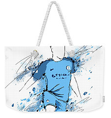 I Am Sky Blue #2 Weekender Tote Bag