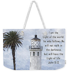 I Am The Light Of The World Weekender Tote Bag