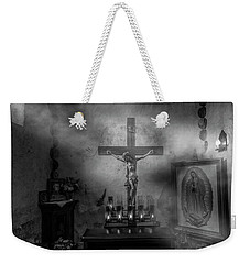 Weekender Tote Bag featuring the photograph I Am The Light Of The World by David Morefield