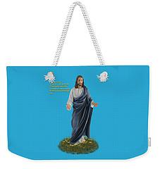I Am The Way John 14 6 Weekender Tote Bag