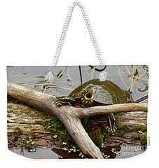 I Am Turtle, Hear Me Roar Weekender Tote Bag