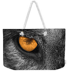 I Am Wolf Weekender Tote Bag