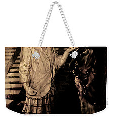 Weekender Tote Bag featuring the photograph I Approve by Al Bourassa