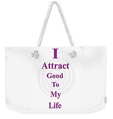 I Attract Weekender Tote Bag