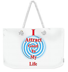 I Attract Red White Blue Weekender Tote Bag