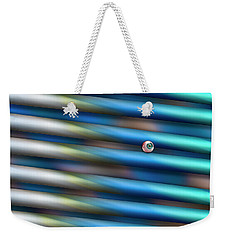 Weekender Tote Bag featuring the photograph I Can See Clearly Now by Paul Wear
