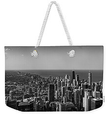 Weekender Tote Bag featuring the photograph I Can See For Miles And Miles by Howard Salmon