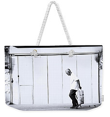 Weekender Tote Bag featuring the photograph I Can See My Way by Jez C Self
