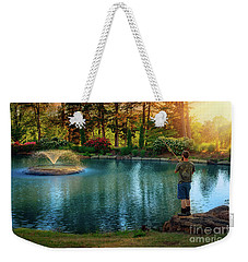 I Could Be Fishing Weekender Tote Bag
