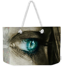I Cried For You  Weekender Tote Bag by Paul Lovering