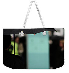Weekender Tote Bag featuring the photograph I Dont Want To Walk Away  by Empty Wall