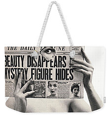 I Dreamed I Was  Private Eye In My Maidenform Bra Weekender Tote Bag