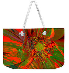 Weekender Tote Bag featuring the photograph I Dreamed Of Flowers  by Jeff Swan