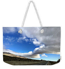 I Follow The Clouds Weekender Tote Bag