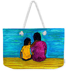I Got You Weekender Tote Bag by Angela L Walker