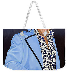 I Got, You Know, This Golden Belt And... Weekender Tote Bag
