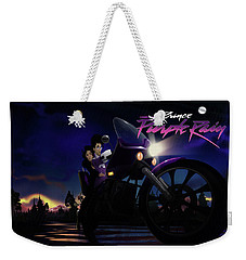 I Grew Up With Purplerain 2 Weekender Tote Bag by Nelson dedos Garcia
