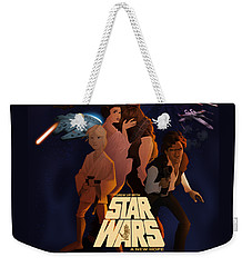 I Grew Up With Starwars Weekender Tote Bag