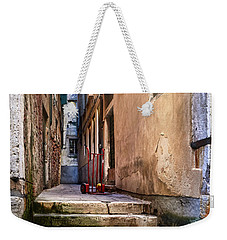 I Have Seen Your Trolley, Somewhere In Venice Weekender Tote Bag