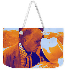 I Knew Two  Weekender Tote Bag by Jesse Ciazza