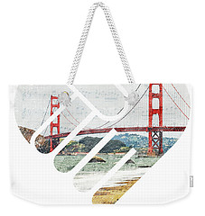 I Left My Heart In San Fransisco Weekender Tote Bag
